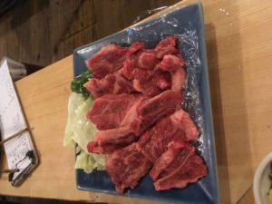 肥後赤牛耕焼定食の写真